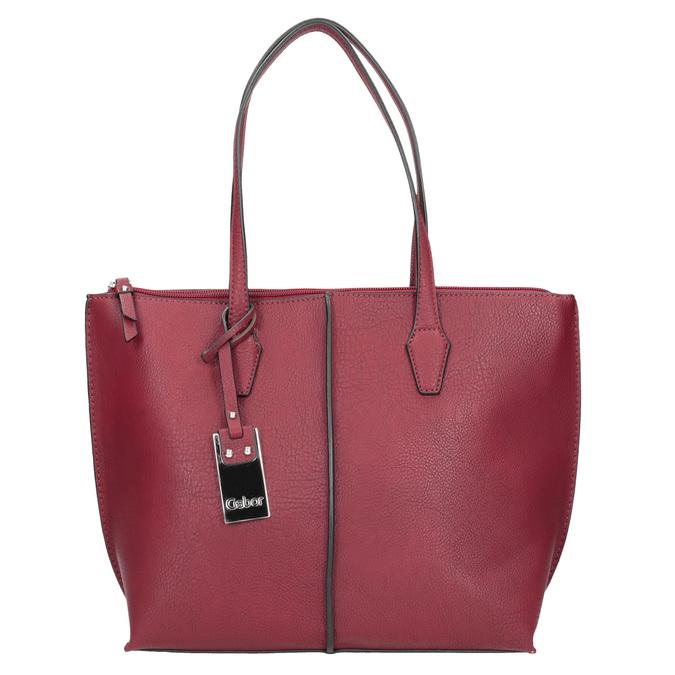 Dámská červená kabelka gabor-bags, červená, 961-5059 - 26