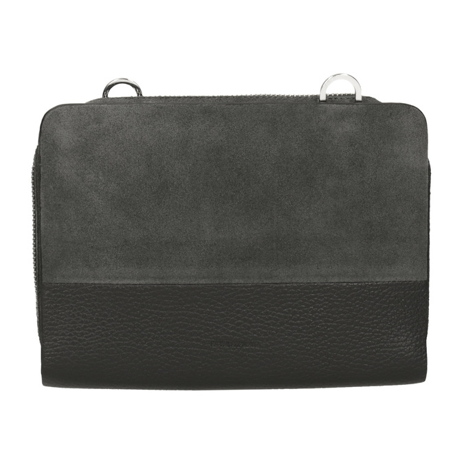 Kožená dámská Crossbody kabelka royal-republiq, šedá, 963-2050 - 26