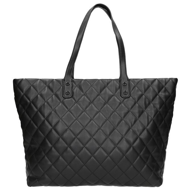 Prošívaná kabelka s řetízkem bata, černá, 961-6139 - 26