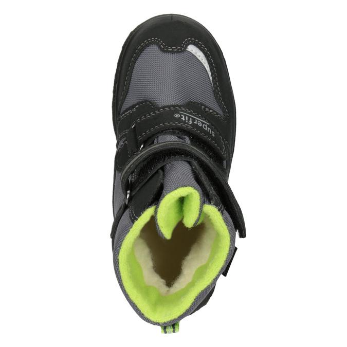 Dětská zimní obuv superfit, černá, 399-6031 - 15