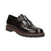 Dámské kožené Monk Shoes bata, červená, 516-5611 - 13