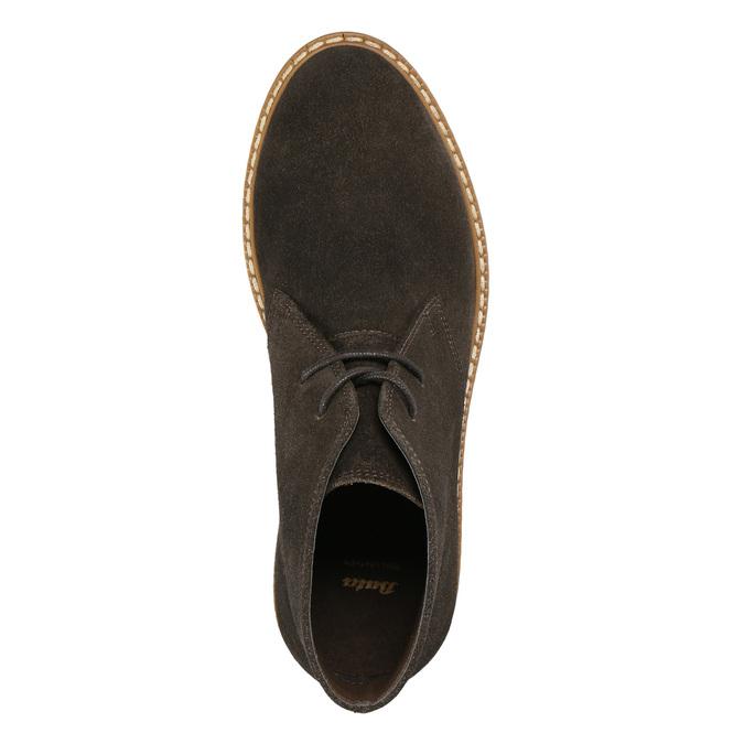 Dámské kožené Desert Boots bata, hnědá, 593-4608 - 26