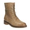 Kožené šněrovací boty dámské bata, hnědá, 596-4663 - 13