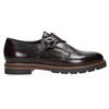 Dámské kožené Monk Shoes bata, červená, 516-5611 - 15
