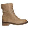 Kožené šněrovací boty dámské bata, hnědá, 596-4663 - 26