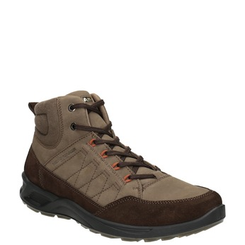 Kožená pánská obuv weinbrenner, hnědá, 846-4647 - 13