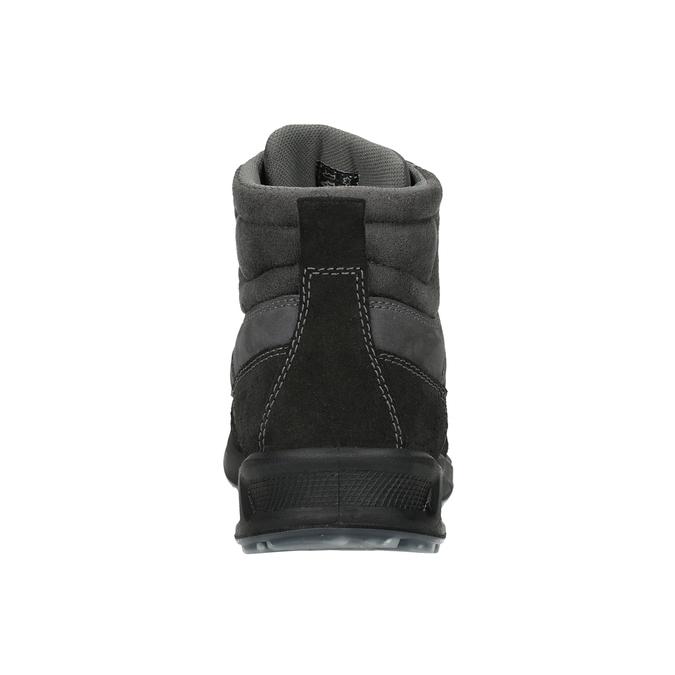 Pánská kožená Outdoor obuv weinbrenner, šedá, 846-2647 - 16