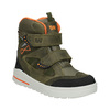 Dětká zimní obuv z kůže weinbrenner-junior, zelená, 493-7612 - 13