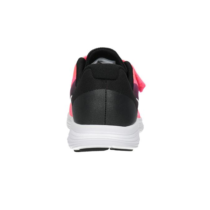 Růžové dívčí tenisky nike, červená, 309-5132 - 16