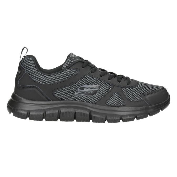 Pánské černé tenisky skechers, černá, 809-6331 - 26