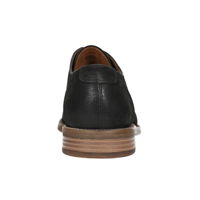 Ležérní kožené polobotky vagabond, černá, 826-6017 - 16