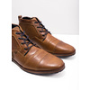 Kožená kotníčková obuv se zipem bata, hnědá, 826-3911 - 18