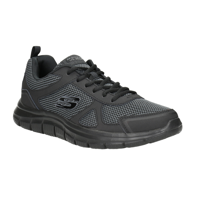 Pánské černé tenisky skechers, černá, 809-6331 - 13