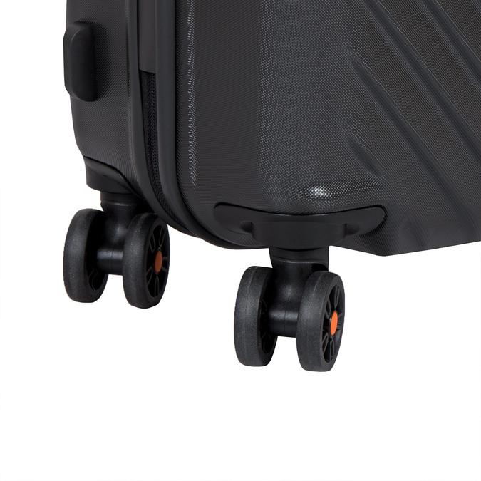 Cestovní skořepinový kufr  american-tourister, černá, 960-6606 - 16