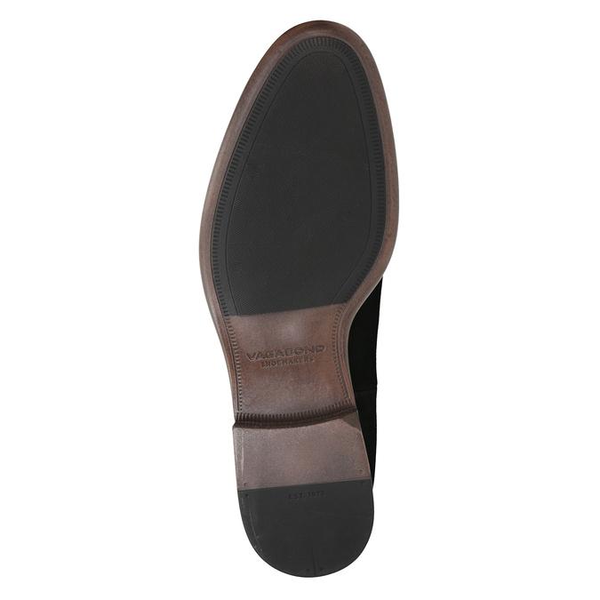 Kožená obuv v Chelsea stylu vagabond, černá, 816-6028 - 17