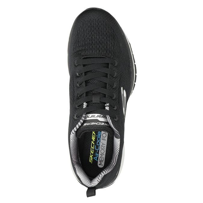 Černé pánské tenisky skechers, černá, 809-6330 - 15