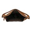 Hnědá kožená kabelka bata, hnědá, 964-4275 - 15