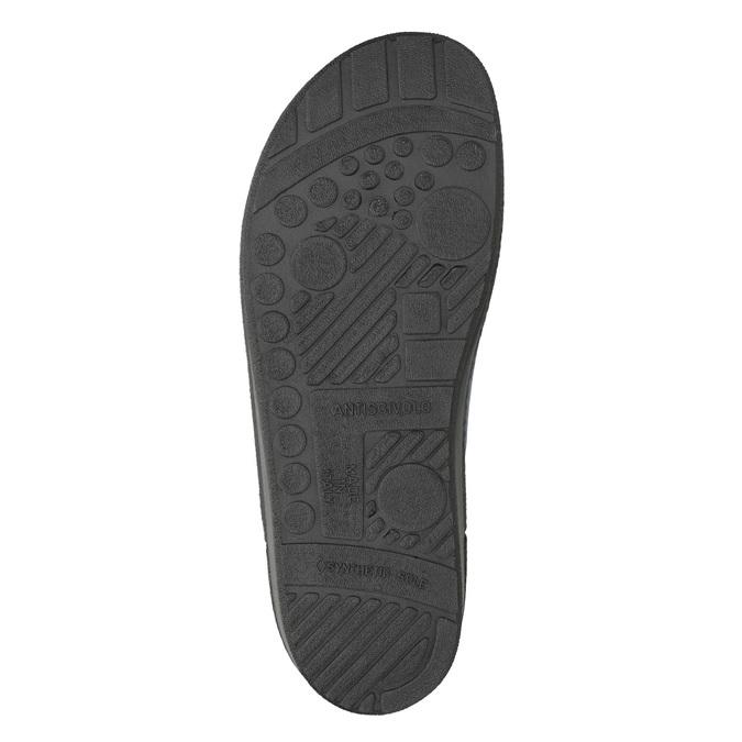 Pánská domácí obuv bata, modrá, 879-9611 - 19