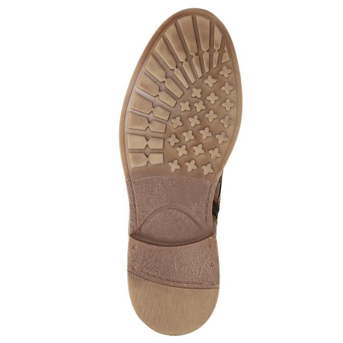 Kotníčková pánská zimní obuv bata, hnědá, 896-3685 - 19