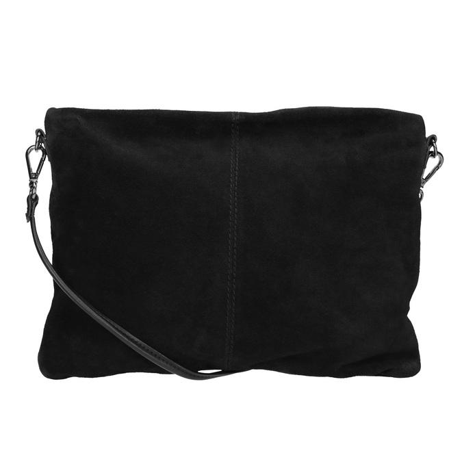 Černé kožené psaníčko bata, černá, 964-6265 - 16