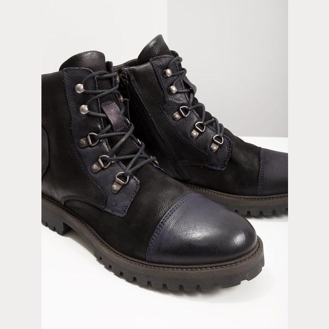 Pánská kotníčková obuv bata, černá, 896-6664 - 18