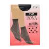 Dámské ponožky se vzorem evona, černá, 919-6670 - 13