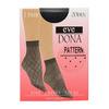 Dámské vzorované ponožky evona, černá, 919-6671 - 13