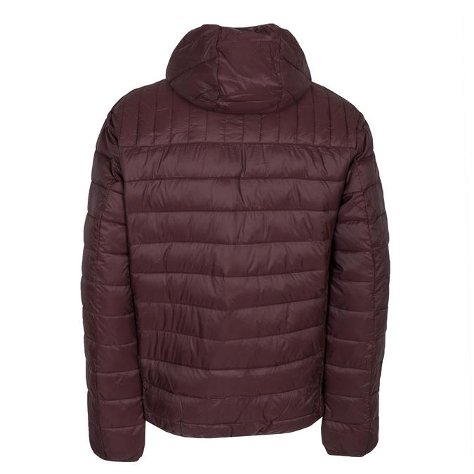 Pánská prošívaná bunda s kapucí bata, červená, 979-5143 - 26