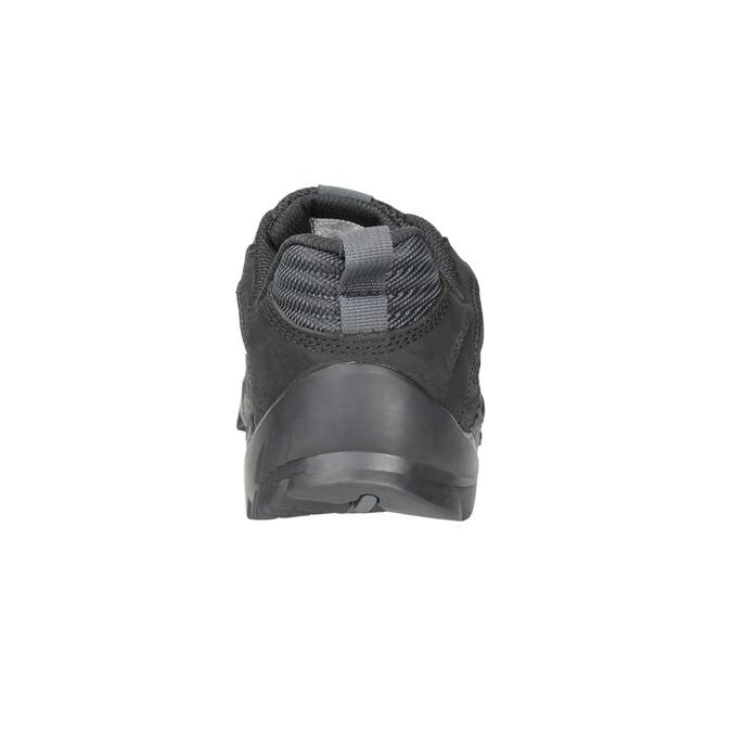 Pánská kožená obuv v Outdoor stylu merrell, černá, 806-6570 - 16