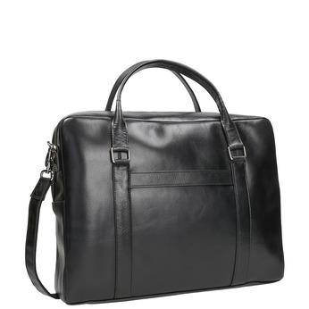Černá kožená taška royal-republiq, černá, 964-6051 - 13