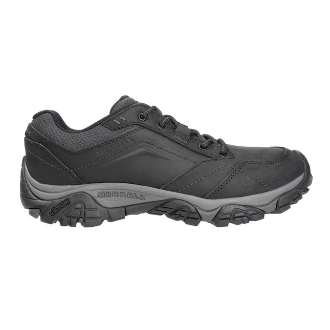 Pánská kožená obuv v Outdoor stylu merrell, černá, 806-6561 - 26