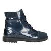 Dětské kotníčková obuv z kůže primigi, modrá, 228-9001 - 26