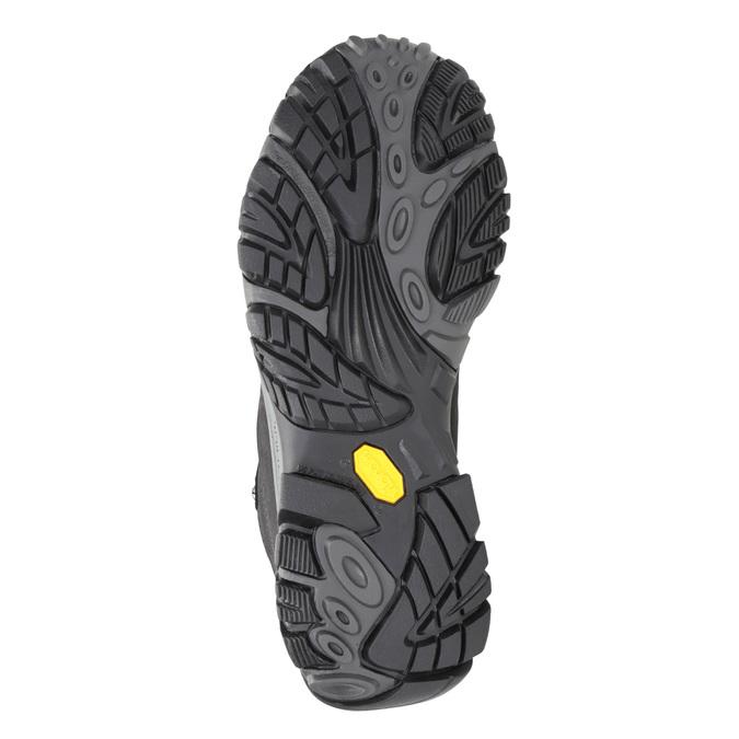 Pánská kožená obuv v Outdoor stylu merrell, černá, 806-6561 - 17