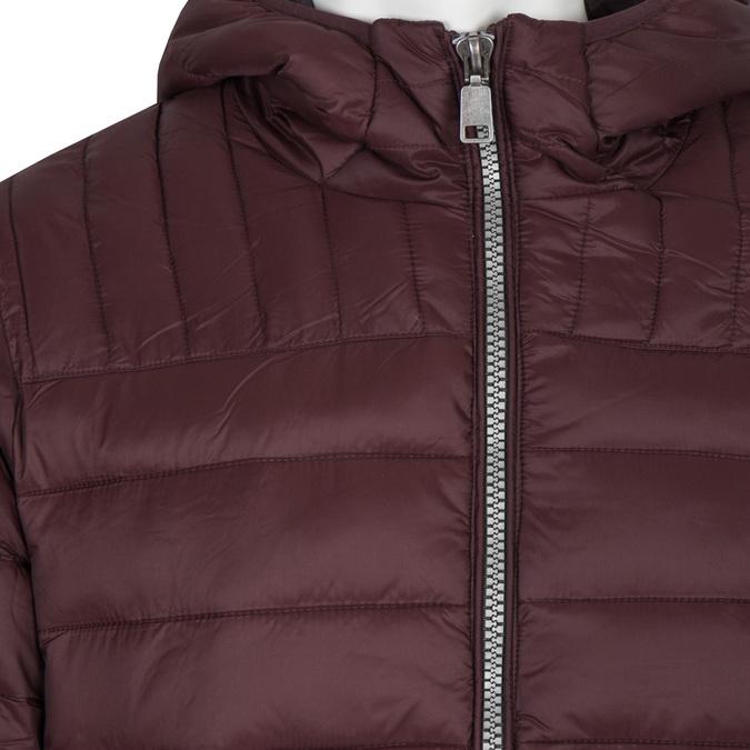 Pánská prošívaná bunda s kapucí bata, červená, 979-5143 - 16