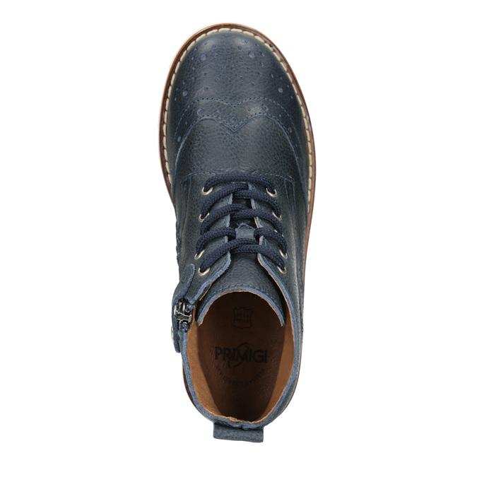 Dětská kotníčková obuv z kůže primigi, modrá, 314-9004 - 15
