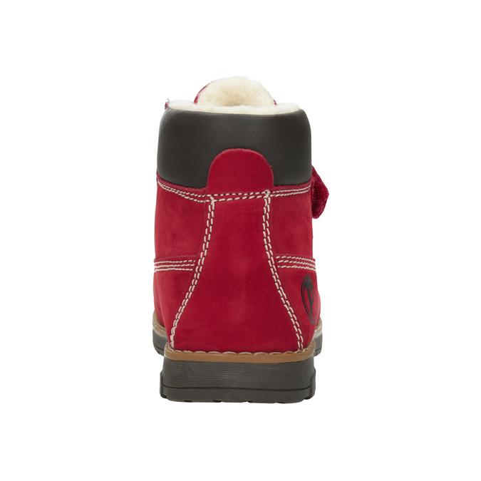 Dětské kotníčkové boty se zateplením primigi, červená, 324-5012 - 16