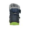 Dětská zimní obuv na suché zipy mini-b, modrá, 491-9654 - 16