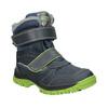Dětská zimní obuv na suché zipy mini-b, modrá, 491-9654 - 13