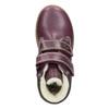 Dětské kotníčkové boty se zateplením primigi, fialová, 324-9012 - 15