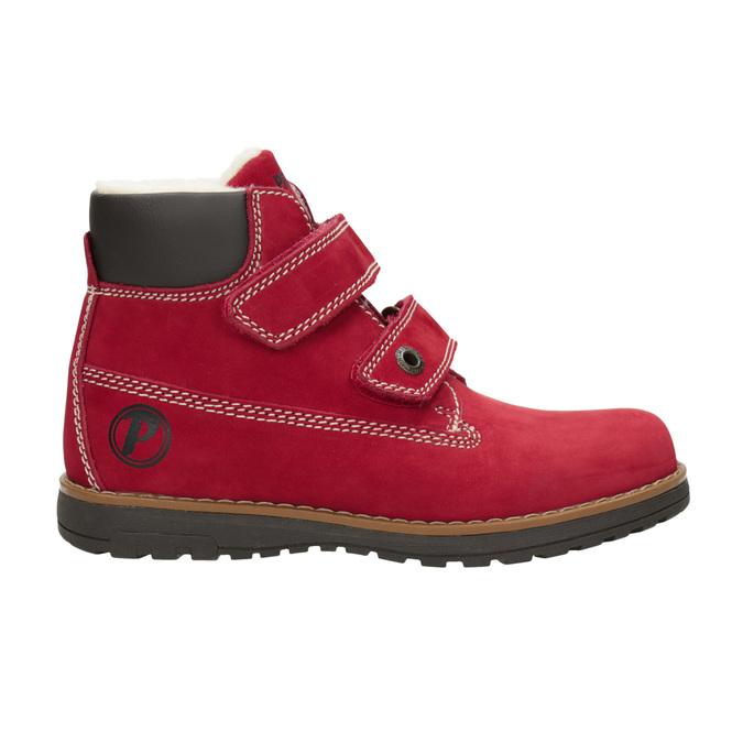 Dětské kotníčkové boty se zateplením primigi, červená, 324-5012 - 26