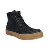 Pánská kožená kotníčková obuv bata, modrá, 843-9631 - 13