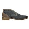 Pánská kožená kotníčková obuv bata, modrá, 826-9920 - 26