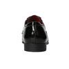 Lakované pánské polobotky bata, černá, 821-6601 - 16