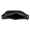 Dámská kabelka s přívěskem bata, černá, 961-6823 - 15