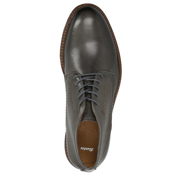 Kožené Chukka Boots bata, šedá, 826-3919 - 16