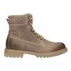 Hnědá kožená kotníčková obuv weinbrenner, 896-8702 - 26