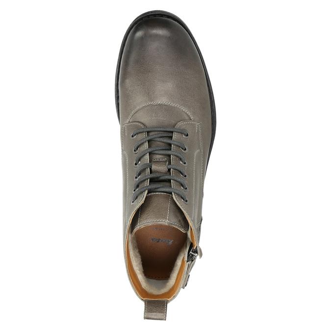 Kotníčková pánská Ombré obuv bata, šedá, 896-2684 - 26