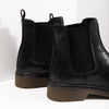 Kožená dámská Chelsea obuv bata, černá, 594-6680 - 14