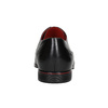 Kožené polobotky s červenými detaily conhpol, černá, 824-6993 - 16