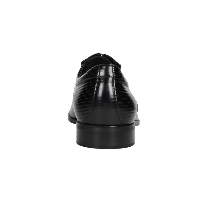 Kožené Oxford polobotky se strukturou conhpol, černá, 824-6989 - 16